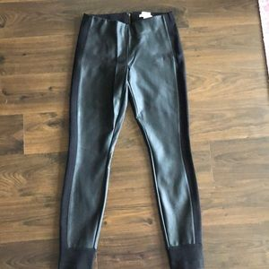 J. Crew Faux Leather Gigi Pants